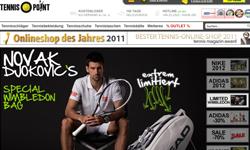 Tennis-Point erhält Millionenfinanzierung